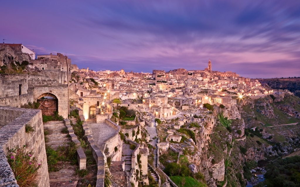 Matera at sunset (Copia)